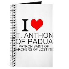 I Love St. Anthony of Padua Journal