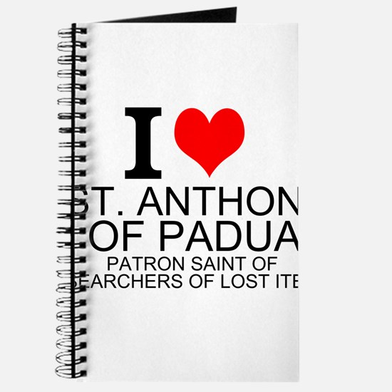 I Love St. Anthony of Padua Journal