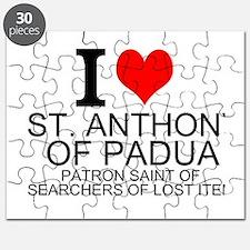 I Love St. Anthony of Padua Puzzle