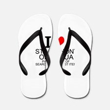 I Love St. Anthony of Padua Flip Flops