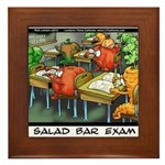 Salad Bar Exam Framed Tile