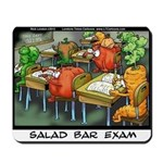 Salad Bar Exam Mousepad