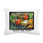 Salad Bar Exam Rectangular Canvas Pillow