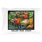 Salad Bar Exam Pillow Case