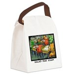 Salad Bar Exam Canvas Lunch Bag