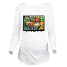 Salad Bar Exam Long Sleeve Maternity T-Shirt