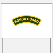 HONOR GUARD ARCHED Yard Sign