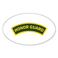 HONOR GUARD ARCHED Decal