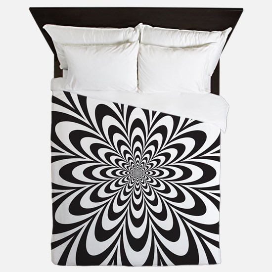 Infinite Flower Queen Duvet