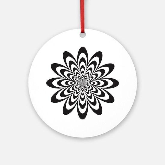 Infinite Flower Ornament (Round)