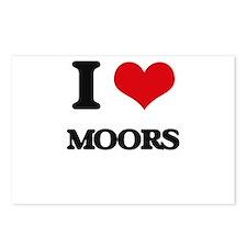I Love Moors Postcards (Package of 8)