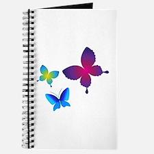 Colorful Buttlerflies Journal