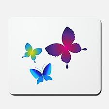 Colorful Buttlerflies Mousepad