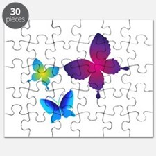 Colorful Buttlerflies Puzzle