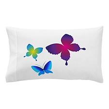 Colorful Buttlerflies Pillow Case