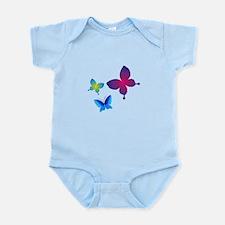 Colorful Buttlerflies Body Suit