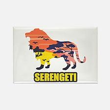 LION SERENGETI Magnets