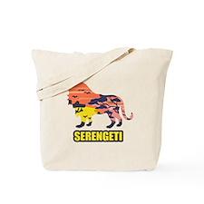 LION SERENGETI Tote Bag