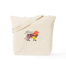 LION AFRICA Tote Bag