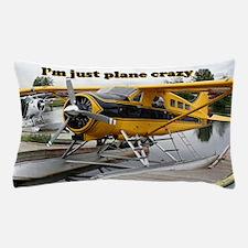 I'm just plane crazy: Beaver float pla Pillow Case