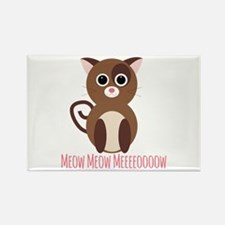 cat_meow meow meeeoow Magnets