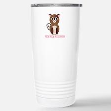 cat_meow meow meeeoow Travel Mug