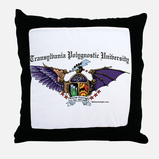 TPU med color Throw Pillow