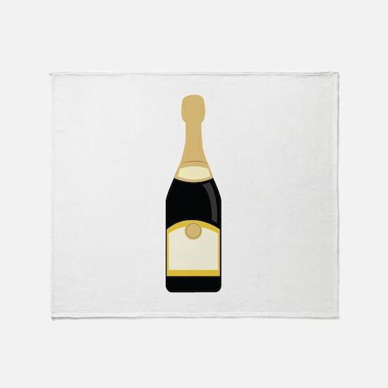 champagne_base Throw Blanket