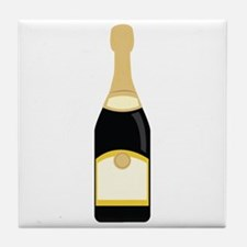champagne_base Tile Coaster