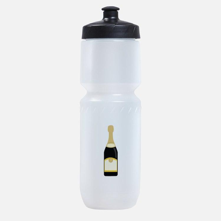 champagne_base Sports Bottle