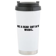 Unique Bear Travel Mug