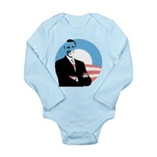Obama (arms folded) Body Suit