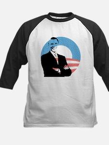 Obama (arms folded) Baseball Jersey