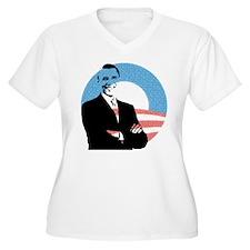 Obama (arms folded) Plus Size T-Shirt