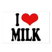 I Love Milk Postcards (Package of 8)