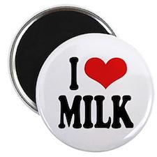 """I Love Milk 2.25"""" Magnet (10 pack)"""