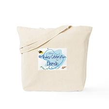 Celebration for Derek (fish) Tote Bag