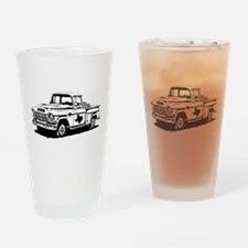 Texas Pick-up Truck Drinking Glass