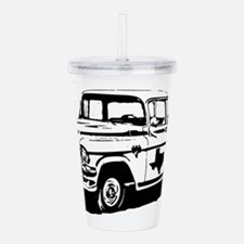 Texas Pick-up Truck Acrylic Double-wall Tumbler