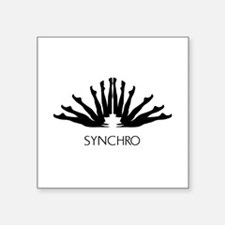 Synchronized Swimming Sticker