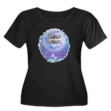 AF Unicorn Fairy Moon Plus Size T-Shirt
