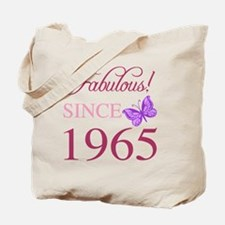 Fabulous Since 1965 Tote Bag