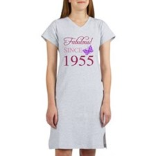 Fabulous Since 1955 Women's Nightshirt