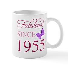 Fabulous Since 1955 Small Mugs