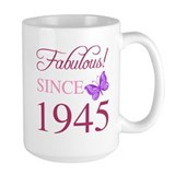 70th birthday Large Mugs (15 oz)