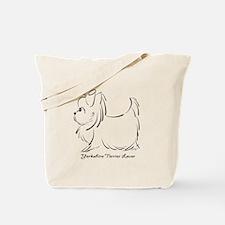 ByCatiaCho Yorkie Lover Tote Bag