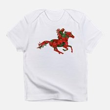 Christmas Horse Rider Infant T-Shirt