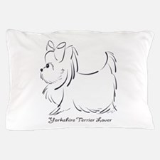 ByCatiaCho Yorkie Lover Pillow Case