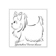 ByCatiaCho Yorkie Lover Sticker