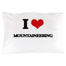 I Love Mountaineering Pillow Case